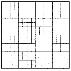 Quadtree partitioning.